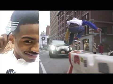 Tyshawn Jones - Adidas X Hardies NYC Release - The Berrics