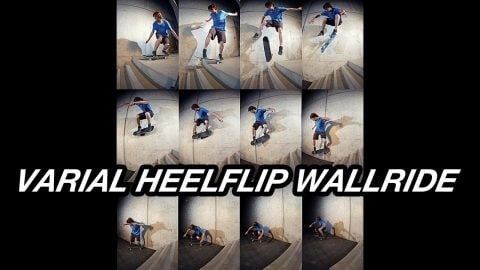 VARIAL HEELFLIP WALLRIDE | A Happy Medium Skateboarding