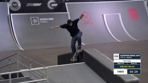 Vincent Milou - 1st Final Skate - FISE European Madrid 2019 | FISE