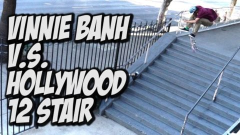 VINNIE BANH V.s. THE HOLLYWOOD HIGH 12 STAIR - A DAY WITH NKA - - Nka Vids