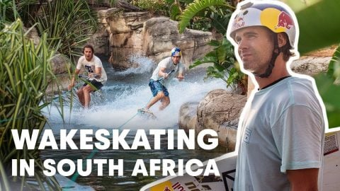 Wakeskating South Africa's Iconic Durban Beachfront | Red Bull