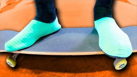 WATER SOCKS ONLY GAME OF SKATE | Braille Skateboarding