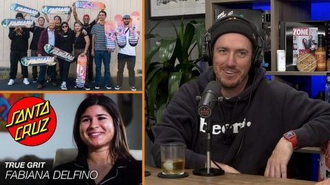 We Discuss Fabiana Delfino: True Grit | Santa Cruz Skateboards | The Nine Club Highlights
