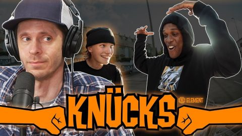 """We Discuss The Element Skateboards """"Knucks"""" Video (Video Review) 