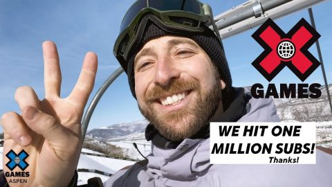 WE HIT ONE MILLION SUBSCRIBERS! | X Games | X Games