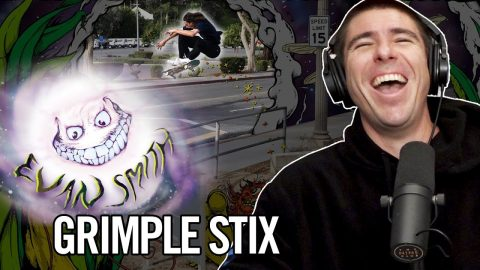 "We Talk About Evan Smith's ""Sky Bird People Up Jump"" Grimple Stix Part 