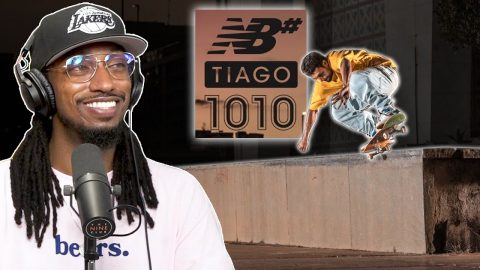 """We Talk About The """"Trust Tiago"""" Video And Tiago Lemos' New Shoe! 