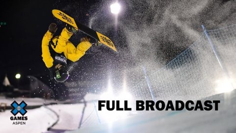 Wendy's Snowboard Knuckle Huck: FULL BROADCAST | X Games Aspen 2020 | X Games