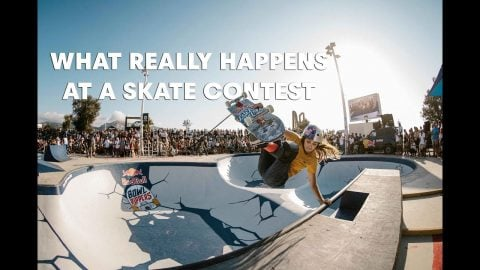 What Really Happens At A Skate Contest | Red Bull Skateboarding