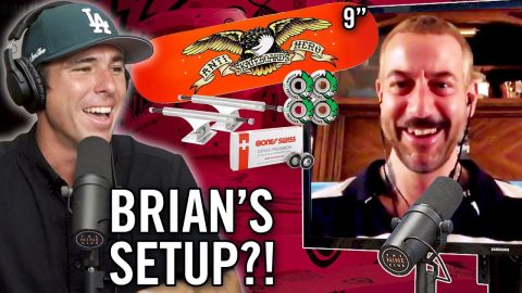 What's Brian Anderson's Board Setup?! | Nine Club Highlights