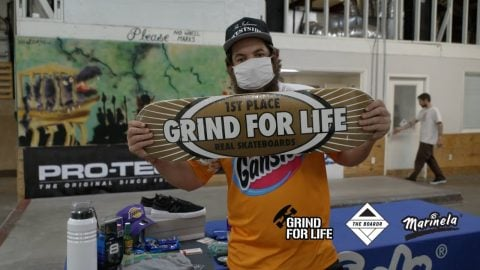 What's in a Grind for Life Series Skateboarding Contest Prize Pack? | TheBoardr