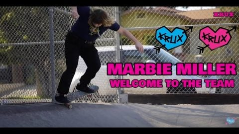 When Krux Introduces You To Their Mom! Marbie Miller's Welcome To The Team! | Krux Trucks | Krux Trucks