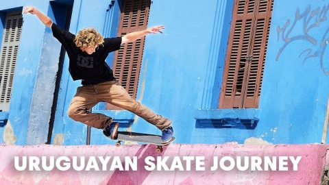 Where the river meets the Ocean - An Uruguayan skate journey - Red Bull