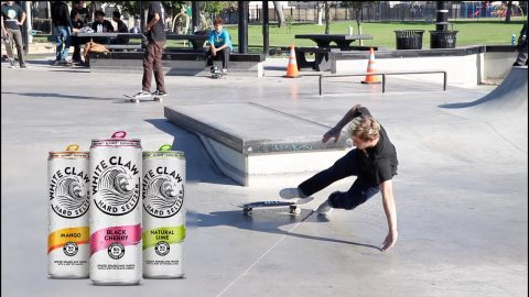 White Boy, White Claw, No Laws *Whole Skate Park* | Lamont Holt