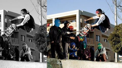 『WHO'S ON TEAM』- Magical Mosh Misfits / 吉川スケートパーク - SKATEBOARDING PLUS