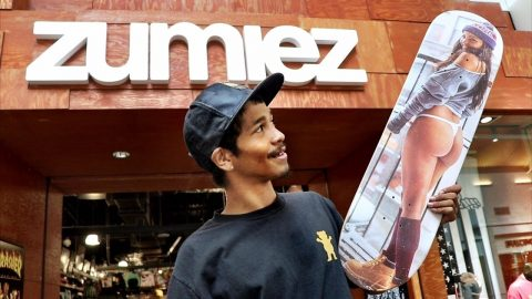 WHY PRO SKATERS SHOP AT ZUMIEZ
