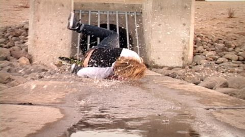 WORST SKATEBOARD FAILS (FACEPLANT INTO SEWER WATER) - Luis Mora