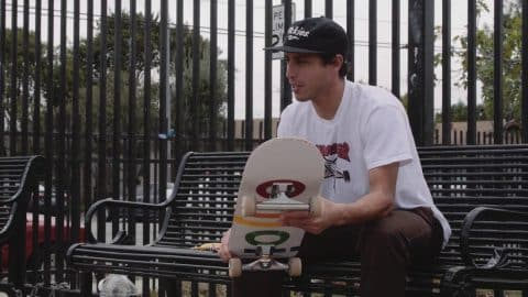 Zack Wallin: Independent Trucks x Graphic MOB Griptape - Mob Grip