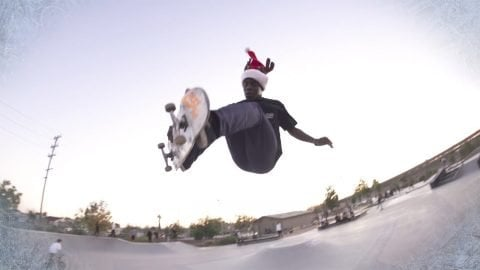 Zion Wright : A REAL Happy Holiday! - REAL Skateboards